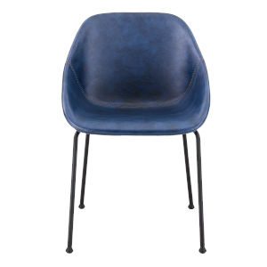 Corinna Blue 24-Inch Side Chair, Set of 2