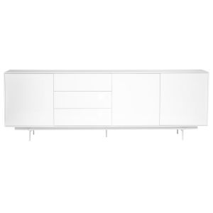 Birmingham White 84-Inch Sideboard