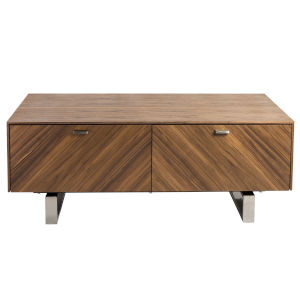 Alvarado Walnut 47-Inch Coffee Table