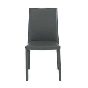 Hasina Gray 19-Inch Stacking Side Chair, Set of 4