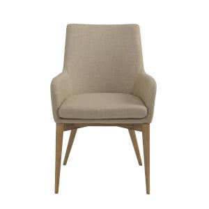 Calais Tan 22-Inch Arm Chair, Set of 2