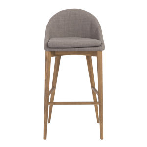 Baruch Gray 19-Inch Bar Stool