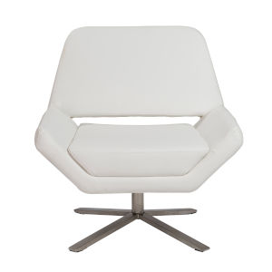 Carlotta White 30-Inch Lounge Chair