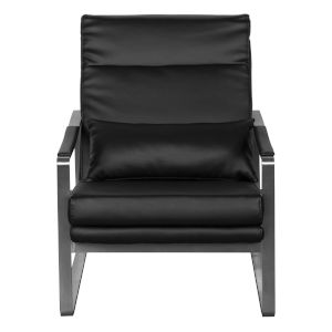 Harrison Black 27-Inch Lounge Chair