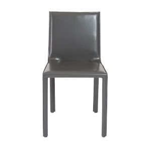 Eysen Anthracite  18-Inch Side Chair, Set of 2