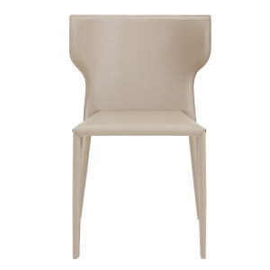 Divinia Light Gray 20-Inch Stacking Side Chair