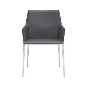 Kasen Gray 22-Inch Arm Chair