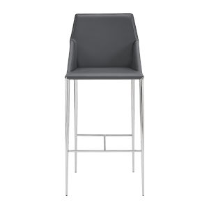 Kasen Gray 20-Inch Bar Stool