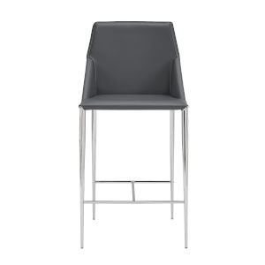 Kasen Gray 20-Inch Counter Stool