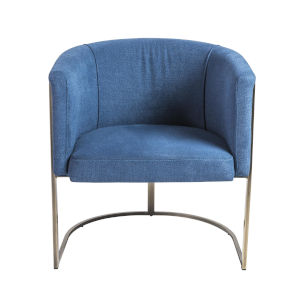 Marrisa Blue 28-Inch Lounge Chair