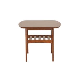 Uptown Walnut Side Table