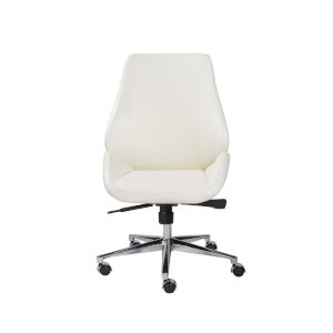 Emerson White Low Back Office Chair