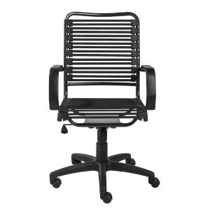 Loring Black 23-Inch High Back Office Chair