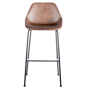 Emerson Brown Leatherette Bar Stool, Set of 2