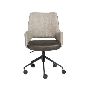 Emerson Light Gray Office Chair