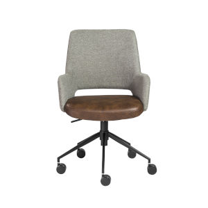Emerson Gray 26-Inch Office Chair