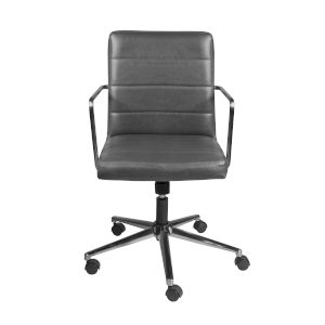 Linden Gray Low Back Office Chair