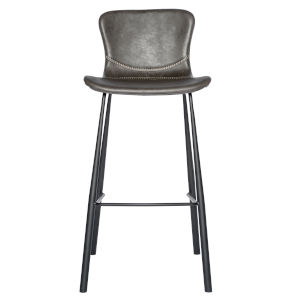 Emerson Dark Gray 19-Inch Bar Stool, Set of 2