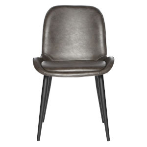 Loring Dark Gray Side Chair, Set of 2
