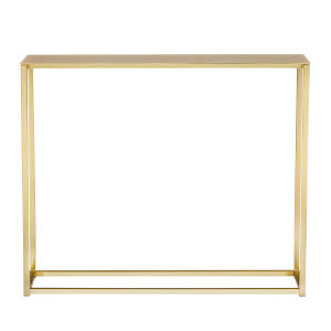 Maeve Matte Brushed Gold 36-Inch Console Table