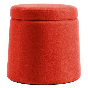 Milo Red Storage Stool
