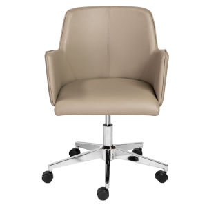Loring Taupe Office Chair