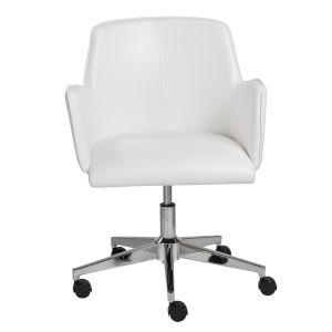 Emerson White Office Chair