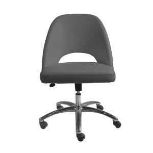 Milo Gray Low Back Office Chair