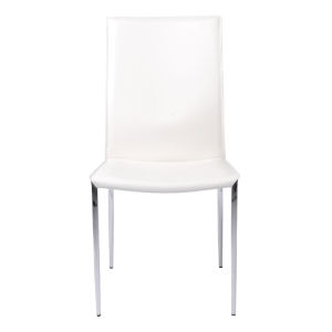 Max White 19-Inch Side Chair, Set of 2