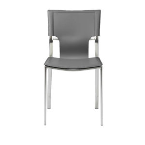 Vinnie Gray 17-Inch Side Chair, Set of 4