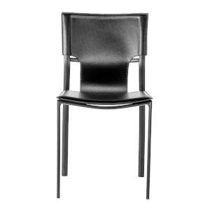 Vinnie Black 17-Inch Side Chair, Set of 4