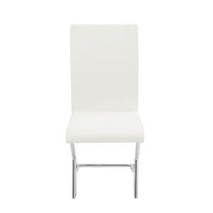 Cordelia White 17-Inch Side Chair, Set of 2