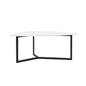 Morty White 72-Inch Dining Table