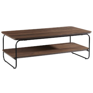 Halle Walnut 47-Inch Rectangle Coffee Table