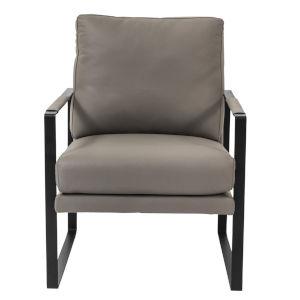Bettina Gray 25-Inch Lounge Chair