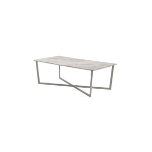 Llona White 47-Inch Rectanglecoffee Table