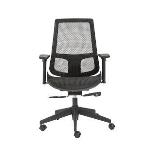Vahn Black 26-Inch Office Chair