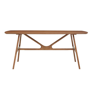 Travis Walnut Dining Table