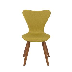 Sandra Avocado Side Chair, Set of 2