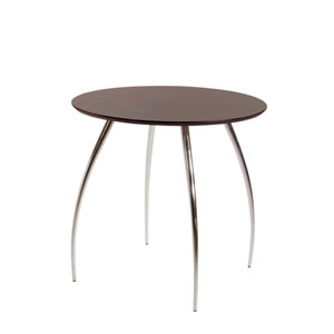 Bistro Wenge 30-Inch Table