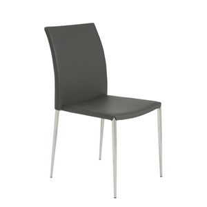 Diana Gray Side Chair, Set of 4