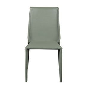 Alder Stacking Side Chair in Green - Set of 4