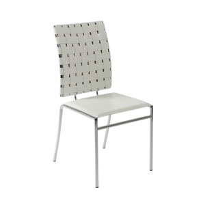 Carina White Side Chair, Set of Four