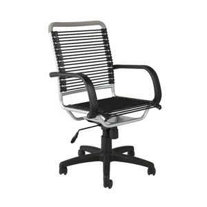 Bungie Black Aluminum High Back Office Chair