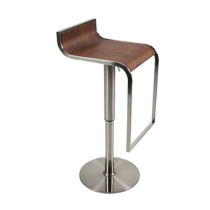 Forest Walnut Bar/Counter Stool