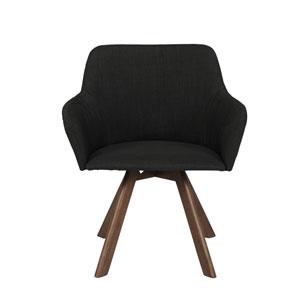 Sampson Dark Gray Arm Chair