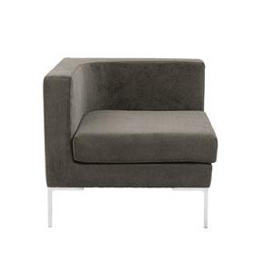 Vittorio Dark Gray Sofa Unit