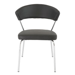 Draco Black Side Chair, Set of 4