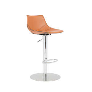Rudy Cognac Bar Stool