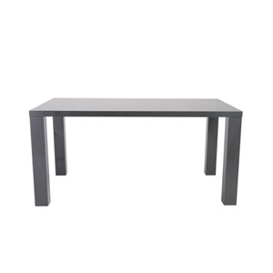 Abby Rectangle Dining Table in Gray